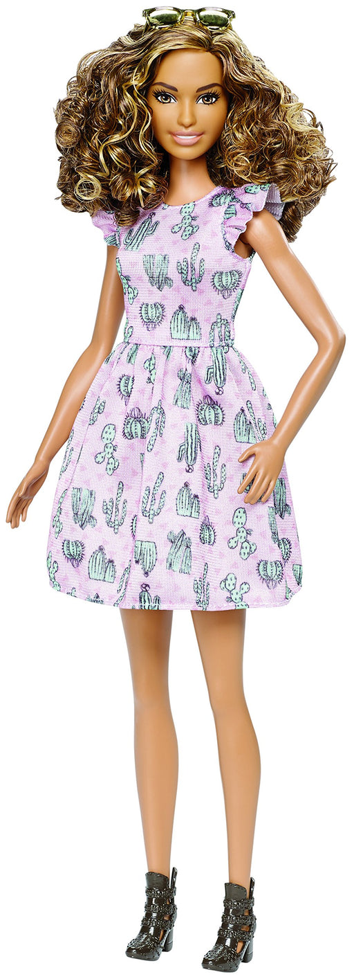 バービー ファッショニスタ 67 Barbie Fashionistas 67 Cactus Print Dress Doll - Zacca store