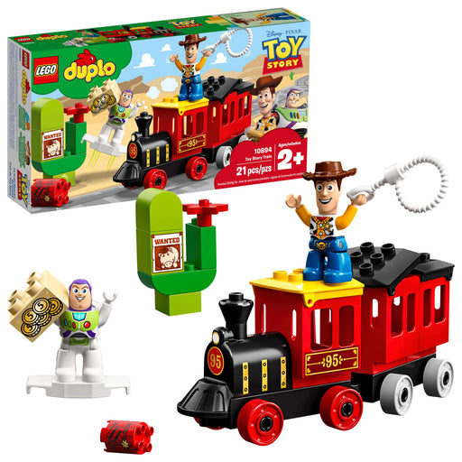 LEGO DUPLO トイストーリー電車 Disney Pixar Toy Story Train 10894 Building Blocks, New 2019 (21 Pieces) - Zacca store