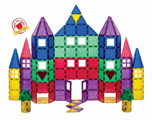 マグネット 3D ビルディング キット Playmags 3D Magnetic Blocks for Kids - Set of 100 Blocks to Learn Shapes, Colors, & Alphabet - Zacca store