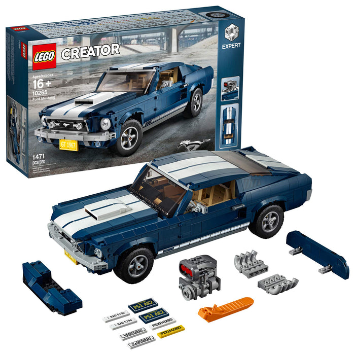 LEGO ムスタング(レア品)Creator Expert Ford Mustang 10265 Building Kit, New 2019 (1471 Pieces) - Zacca store