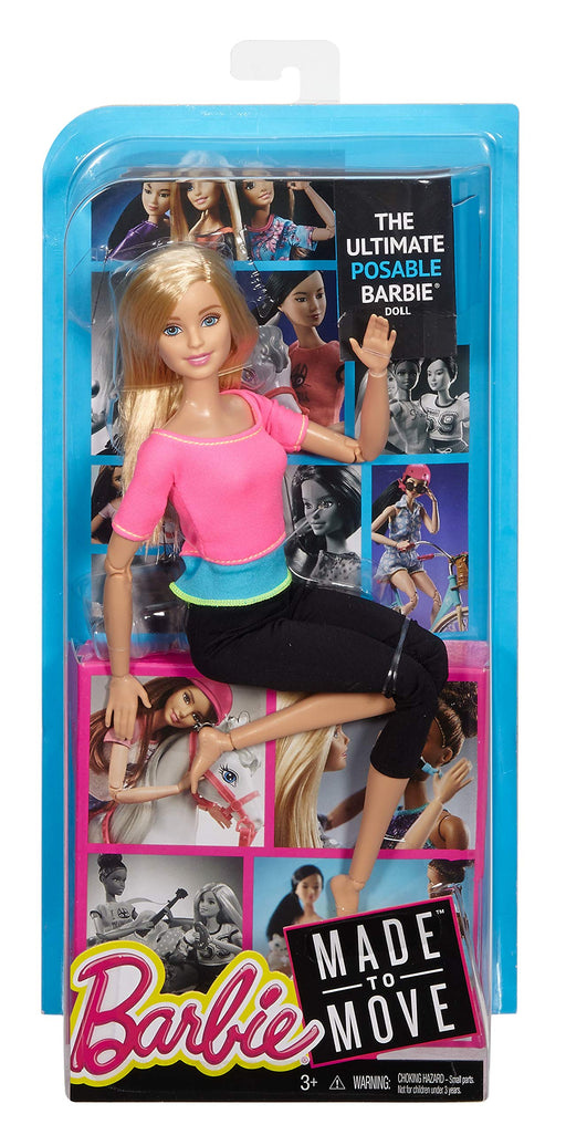 Barbie Made to Move Doll [Amazon Exclusive] - Zacca store