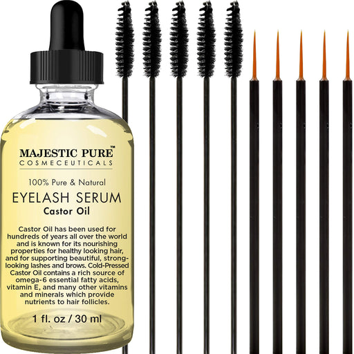 オーガニックまつげ育毛エッセンス Majestic Pure Castor Oil Eyelash Serum - Zacca store