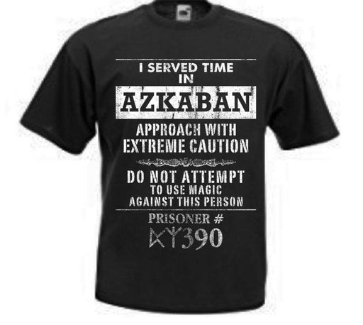 ハリーポッターメンズT-シャツ Harry Potter I Served Time Shirt For Men - Zacca store