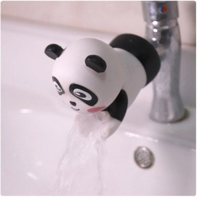 Animal Faucet Silicone Extender Kitchen Bathroom