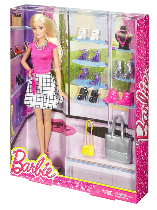 Barbie Doll with Shoes and Accessories - Zacca store