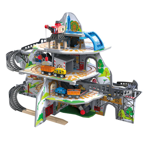 木製鉄道大きな鉱山セット Hape Kids Wooden Railway Mighty Mountain Mine Set - Zacca store