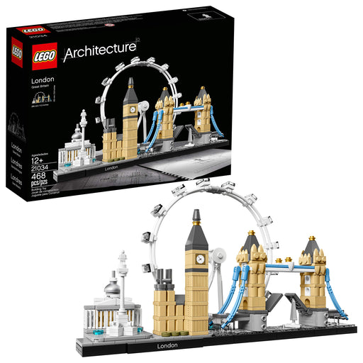 LEGO 建築シリーズ ロンドン スカイライン Architecture London Skyline Collection 21034 Building Set Model Kit and Gift for Kids and Adults (468 pieces) - Zacca store