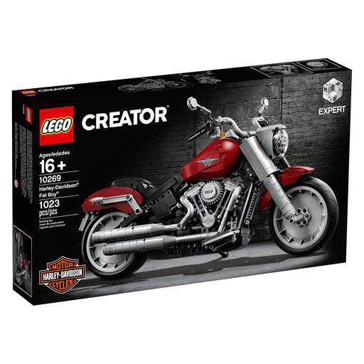 LEGO ハーレー・ダビッドソン Creator Harley-Davidson Fat Boy 10269 (1023 Pieces) - Zacca store