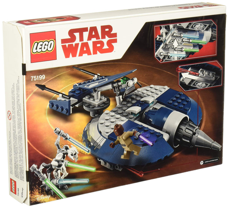 LEGO  グリーヴァス将軍のコンバット・スピーダー Star Wars: The Clone Wars General Grievous' Combat Speeder 75199 Building Kit (157 Pieces) - Zacca store