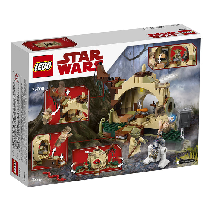 LEGO スターウォーズ ヨーダの小屋 Star Wars: The Empire Strikes Back Yoda's Hut 75208 Buildin g Kit (229 Pieces) - Zacca store