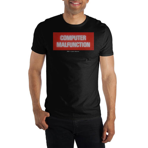 2001年宇宙の旅 メンズT-シャツ  2001 A Space Odyssey Computer Malfunction T Shirt For Men - Zacca store