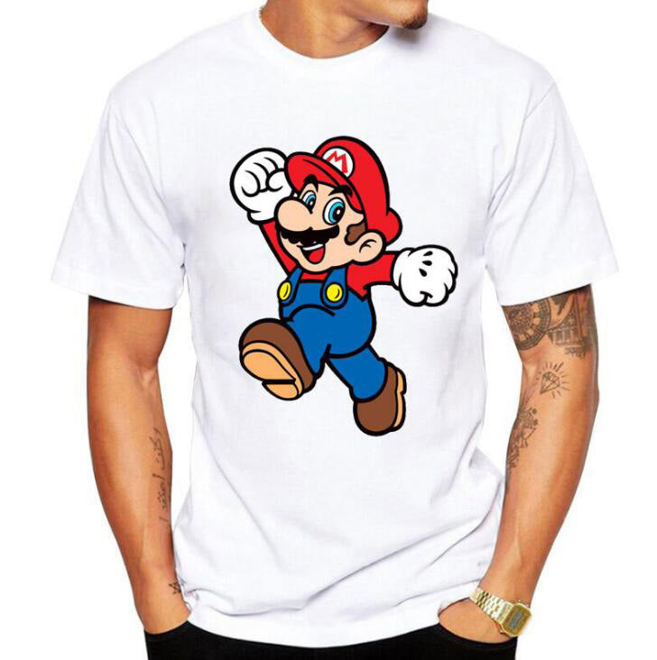 Mario Mushroom Graphic Design T-shirt - Zacca store
