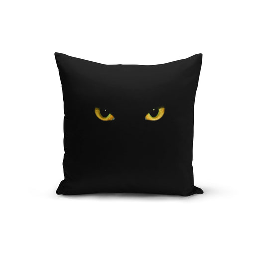 Black Cat Pillow Cover - Zacca store