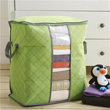Bedroom Closet Storage Bag Box Portable Organizer With Handle - Zacca store