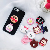 Cartoon Manga Characters Cell Phone PopSocket - Zacca store