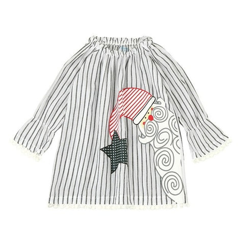 Santa Kids Cotton Dress - Zacca store