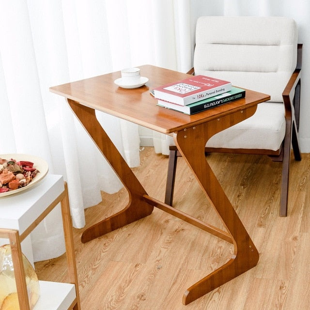 Bamboo Sofa Table TV Tray Laptop Desk - Zacca store