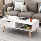 Modern Coffee Table Side End Table Cabinet - Zacca store