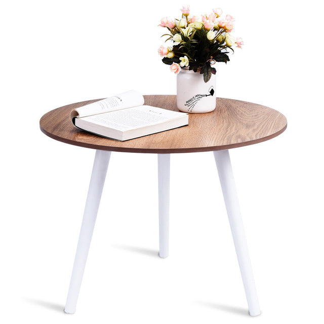 Modern Round Coffee Table Side Tea End - Zacca store