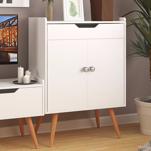 Two Door Buffet Sideboard Storage Cabinet - Zacca store