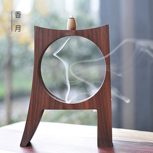 Beautiful Sandalwood Wooden Incense Holder Decor - Zacca store