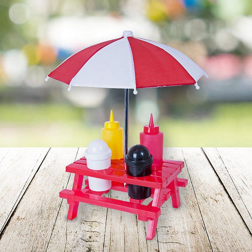 Mini Picnic Table Condiment Stand - Zacca store