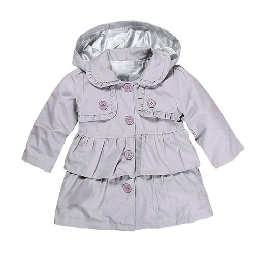 Spring Baby Coats With Hood - Zacca store