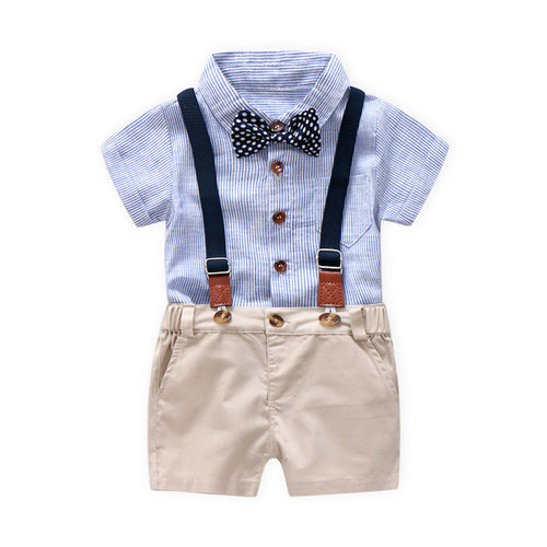 New Hot Toddler Baby Boys Summer Gentleman Bowtie - Zacca store