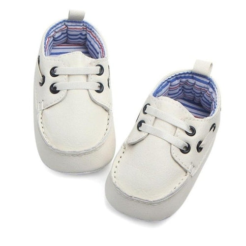 Double Inner Soft Sole Leather Baby Shoes - Zacca store