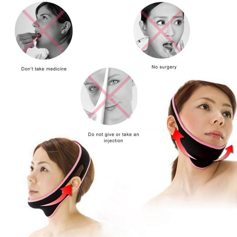 Face-Lift Slimming Anti Wrinkle V Line Belt - Zacca store