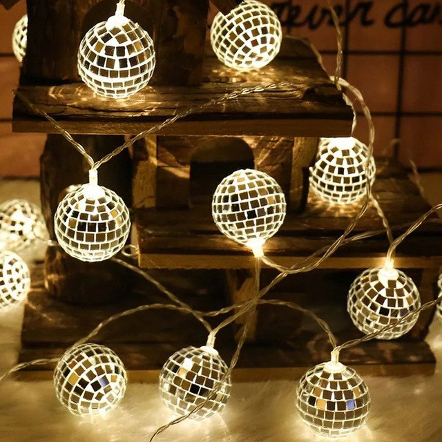 String Lights Moroccan Ball 10/20 LED - Zacca store