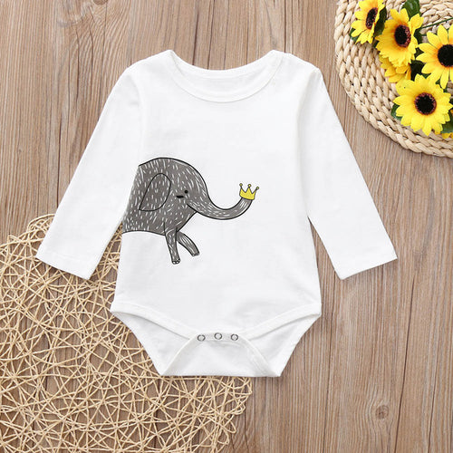 Trendy Romper 2018 Newborn Baby Girls Boys Long - Zacca store