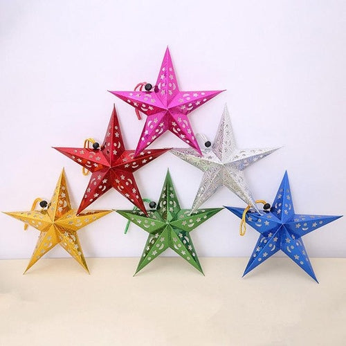 Xmas Star Hanging Ornament - Zacca store