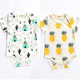 Infant Baby Boy Girl Clothes Cotton Romper Jumpsuit Bodysuit Outfits 0-24M - Zacca store