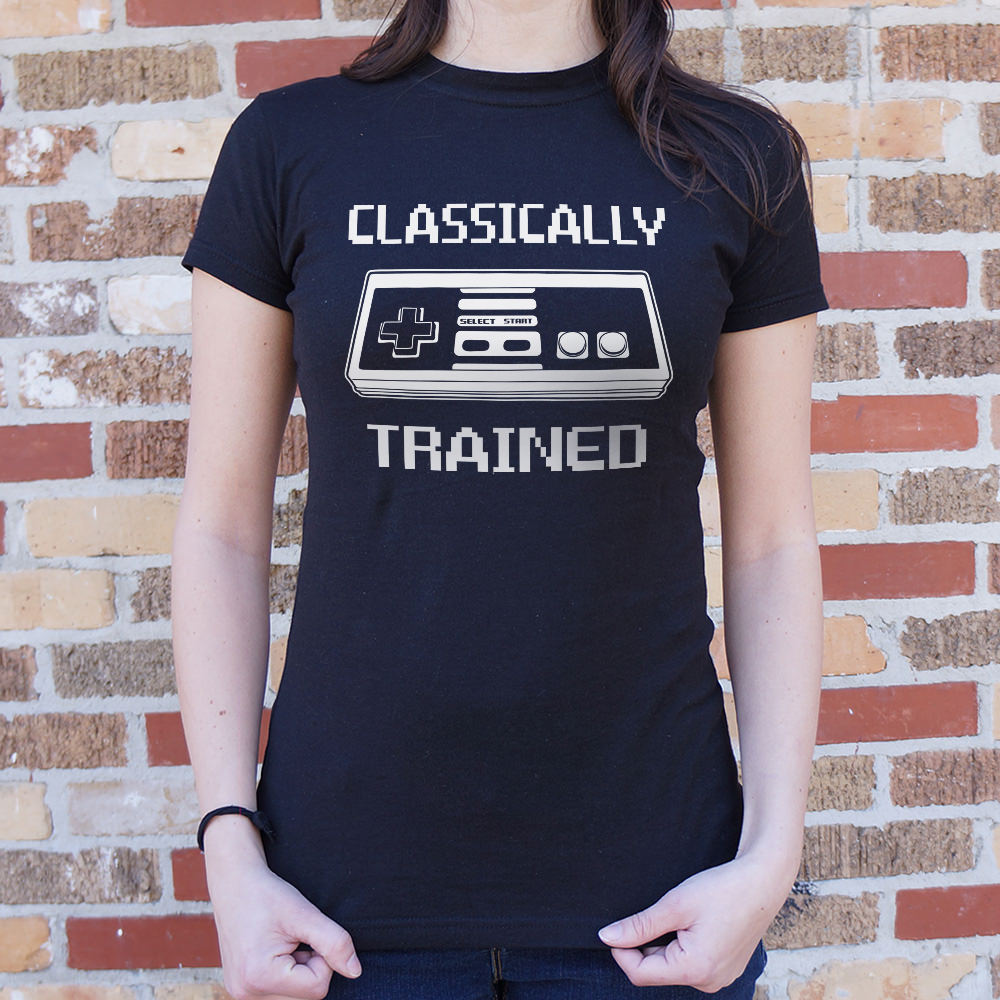 Classically Trained T-Shirt (Ladies) - Zacca store