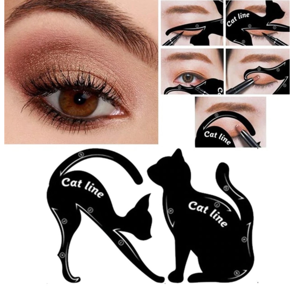 4pcs Cat Eye Line/Scale for Perfect Smokey Eyes - Zacca store