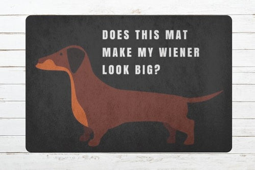 Weiner Dog Welcome Doormat - Zacca store
