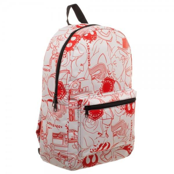 Star Wars Episode 8 QT Salt Planet Backpack