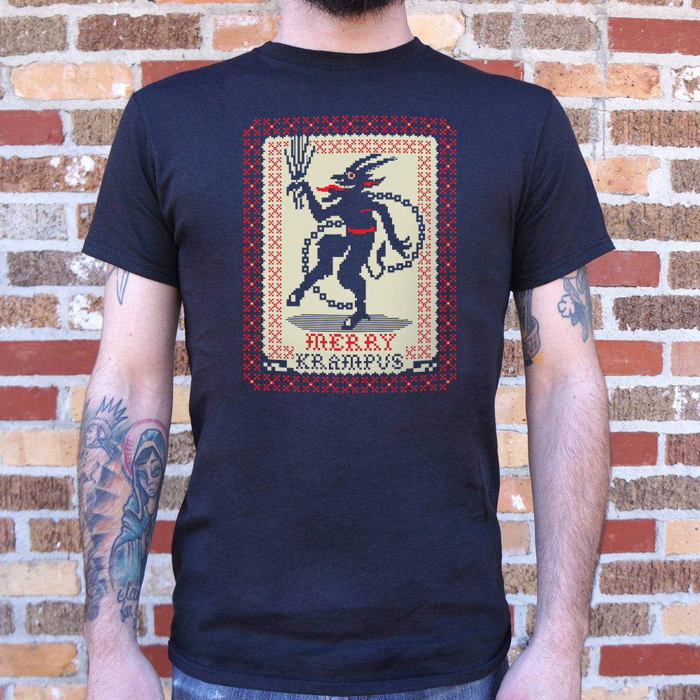 Merry Krampus T-Shirt (Mens) - Zacca store