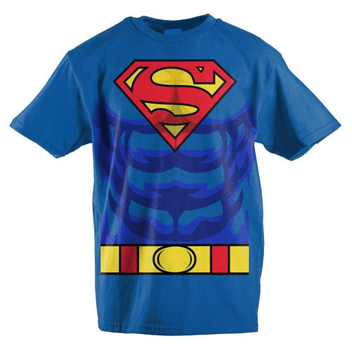 スーパーマン キッズ T-シャツ  DC Comics Superman Suit Boys T-shirt - Zacca store