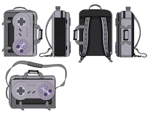 任天堂コントローラーバックパック Controller Backpack  Game Controller Backpack Inspired by Super Nintendo - Zacca store