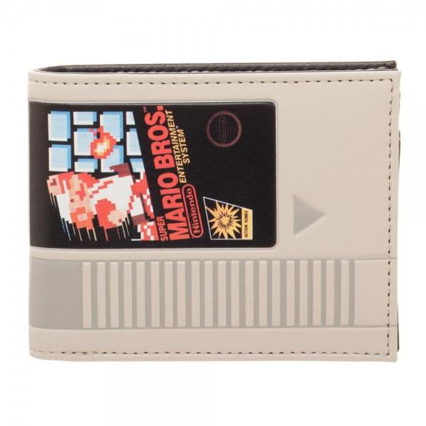 Nintendo Super Mario Cartridge Bi-Fold Wallet ALL - Zacca store