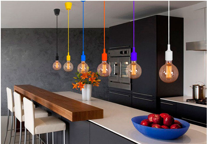 Modern Colorful Pendant Lights - Zacca store