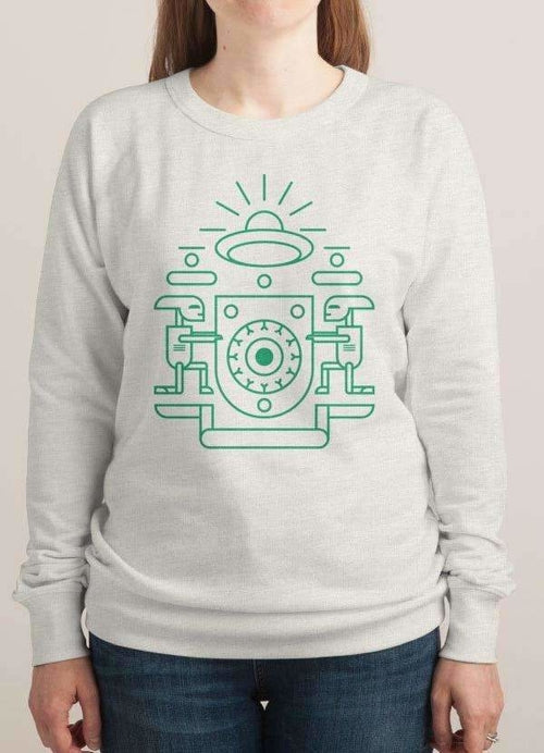 UFO WATCHERS WOMEN PRINTED SWEAT SHIRT - Zacca store