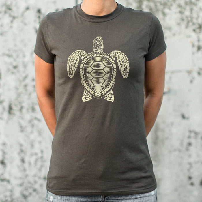 Sea Turtle Spirit T-Shirt (Ladies) - Zacca store