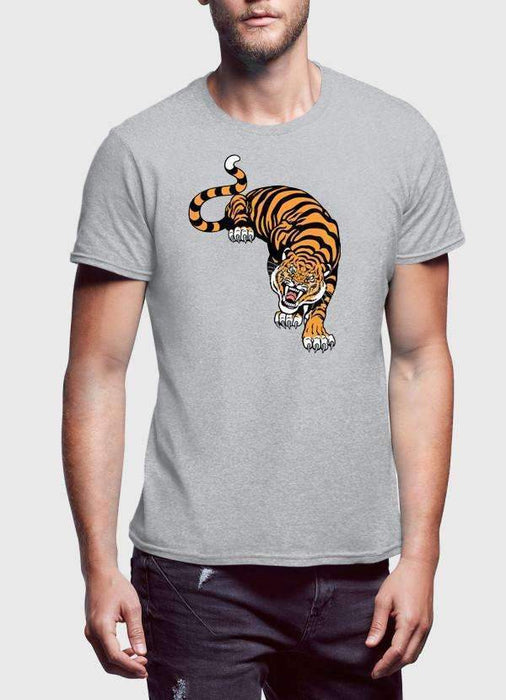 Cornered Tiger Printed T-Shirt - Zacca store