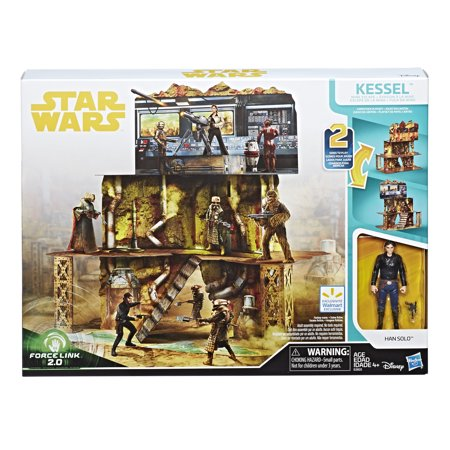ウォルマート限定 スターウォーズ プレーセット A Star Wars Story Force Link 2.0 Kessel Mine Escape Walmart Exclusive Playset