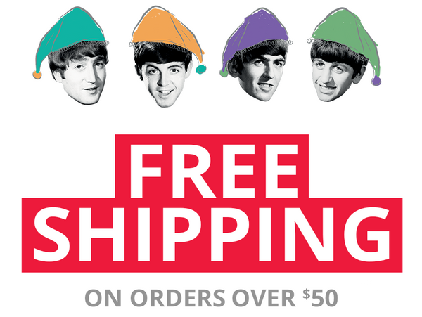 Click here to view and save or print the Beatles 2018 Gift Guide!