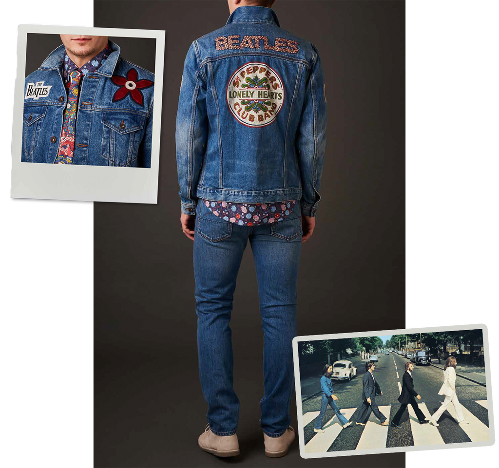 Pretty Green x The Beatles Denim Jacket