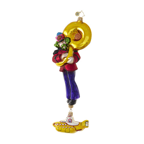 Yellow Submarine George Ornament